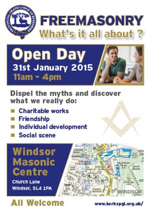 Windsor Lodge Open Day Poster