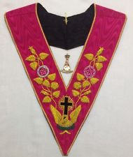 Rose Croix Collar